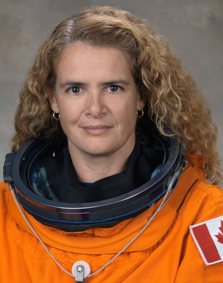 Astronaut Julie Payette has been named Chief Operating Officer of the Montreal Science Centre.  (PRNewsFoto/Canada Lands Company, Canadian Space Agency)