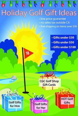 Carlsbad Golf Holiday Golf Gift Ideas.  (PRNewsFoto/myreviewsnow, llc)
