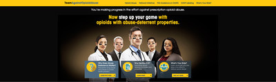 Purdue Pharma L.P. Launches TeamAgainstOpioidAbuse.com, a new resource aimed at educating about opioid analgesics with abuse-deterrent properties andteam efforts to deter abuse of prescription medicines.