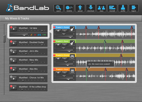 JamHub BandLab   PRNewsFoto JamHub Corporation. JamHub Launches New Kickstarter Project to Fund World s First