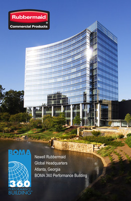 Newell Rubbermaid global headquarters building in Atlanta earns a BOMA 360 designation in recognition of excellence in building management by utilizing Rubbermaid Commercial Products to improve operational efficiency.