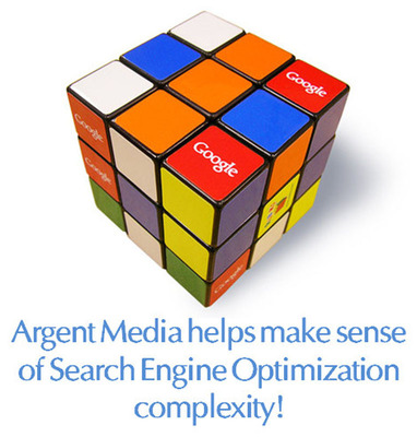 Argent Media helps make sense of Search Engine Optimization complexity!  (PRNewsFoto/Argent Media)