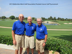 BALLENISLES MEN'S GOLF ASSOCIATION (MGA) Pictured (left to right) are Jack Robbins, co-chair, Burt Schwartz, Chair, and Ed McMenamy, Co-Chair. Over three hundred supporters participated in the tournament which benefited The Scripps Research Institute in Jupiter, Florida.