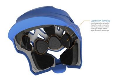 Hummingbird Women's Lacrosse Headgear powered by Windpact Technology