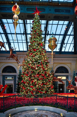Come experience the holiday magic of Bellagio's Conservatory in Las Vegas.  (PRNewsFoto/MGM Resorts International)