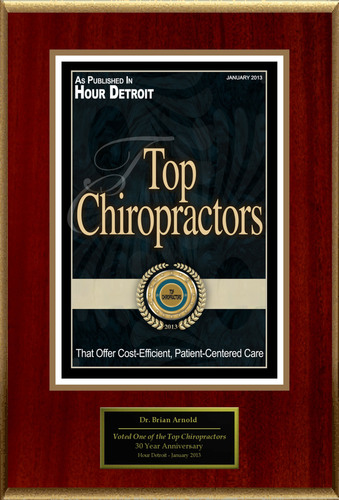 "Dr. Brian Arnold Selected For ""Top Chiropractors"".  (PRNewsFoto/American Registry)"