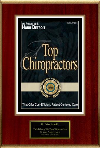 "Dr. Brian Arnold Selected For ""Top Chiropractors"". (PRNewsFoto/American Registry) (PRNewsFoto/AMERICAN REGISTRY)"