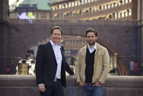 Founder and Senior Advisor Matti Jylha and new Managing Director Henrik Edlund anticipate continued rapid growth for Futurice Sweden. (PRNewsFoto/Futurice)