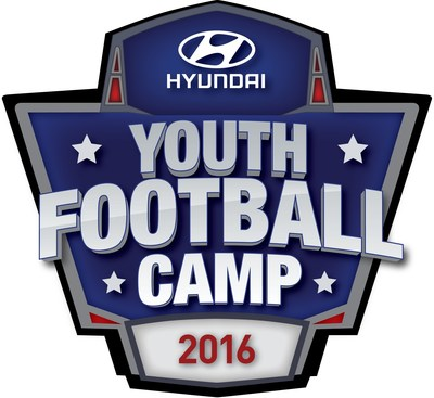 Hyundai Motor America, an official sponsor of the National Football League (NFL), is hosting five youth football camps in each of its five NFL team-sponsored cities this summer.