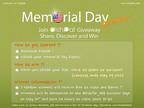 DishPal Memorial Day Giveaway.  (PRNewsFoto/SK Planet)
