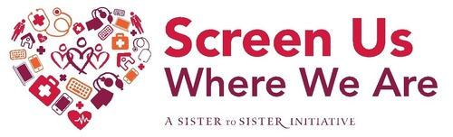 Sister to Sister Launches Groundbreaking Screen Us Where We Are Campaign. Supermodel and Women's Advocate Emme Joins Leading Cardiologists, Women's Health Organizations and Policymakers to Call for Heart Disease Screenings Wherever Women Seek Primary Care. (PRNewsFoto/Sister to Sister)