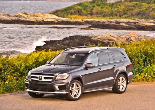 Kiawah Island's Tough Terrain and Wind Are No Match for the New 2013 Mercedes-Benz GL-Classat The PGA Championship.  (PRNewsFoto/Mercedes-Benz USA)