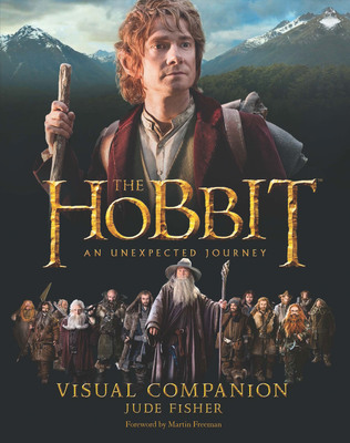 """The Hobbit: An Unexpected Journey Visual Companion"" from Houghton Mifflin Harcourt. Photo courtesy of Warner Bros. Consumer Products.   (PRNewsFoto/Warner Bros. Consumer Products)"