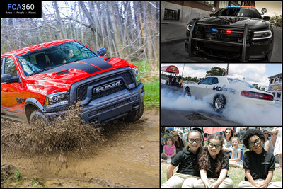 The July edition of FCA360 gives an inside look at FCA US LLC. This month's edition includes Chrysler Pacifica's new pint-sized product specialists, the Mopar '16 Ram Rebel and Scat Pack performance kit upgrades.