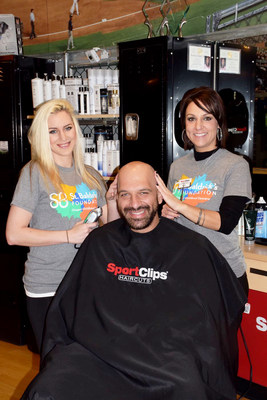 Sport Clips Haircuts commits to donating $1 million to the St. Baldrick's Foundation to support childhood cancer research.