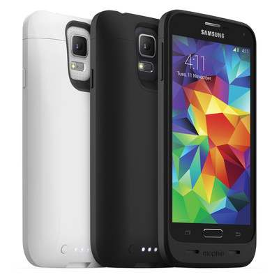 mophie juice pack(R) Made for Galaxy S5 (PRNewsFoto/mophie)