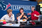 Luby's, Inc. COO Peter Tropoli, Houston Texans Center Ben Jones and Texans Radio Co-host John Harris chew and chat about new Fuddruckers partnership with the Houston Texans