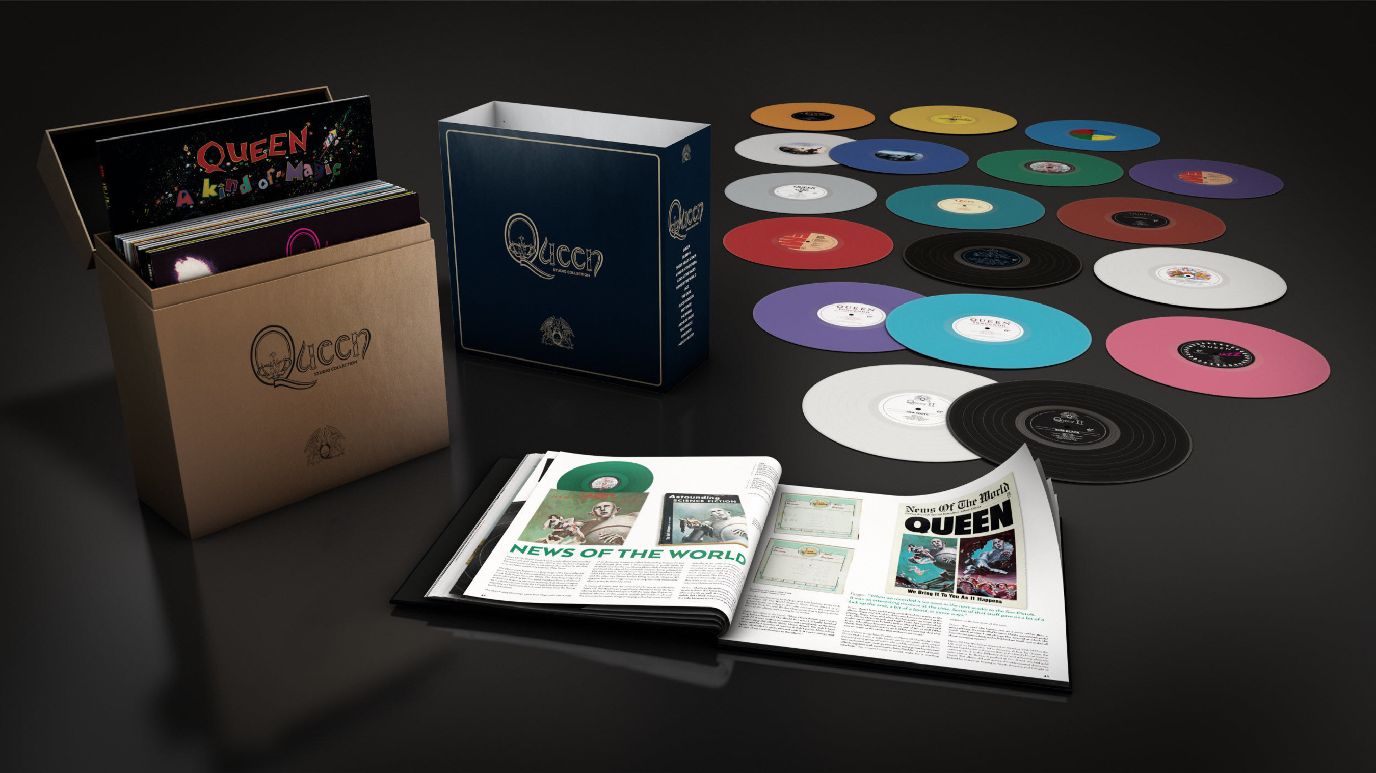 Queen The Studio Collection Special Edition Vinyl Box Set