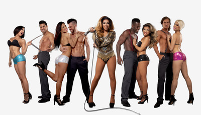 "The Cast of ""53X"" at Chateau Nightclub at Paris Las Vegas - performances begin March 11, 2016."