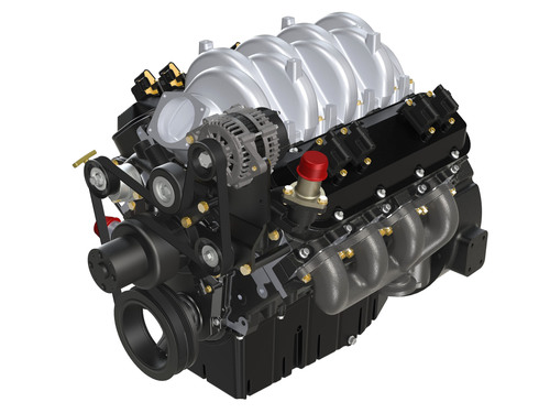 PSI 8.8L CNG Engine with Quantum Fuel System.  (PRNewsFoto/Quantum Fuel Systems Technologies Worldwide, Inc.)