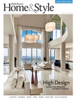 Cover of the premiere issue of Robb Report Home & Style Magazine. Setting: Miami, Florida Penthouse in Brickell Key, a man made island located offshore of Miami's Brickell neighborhood.  (PRNewsFoto/Robb Report)