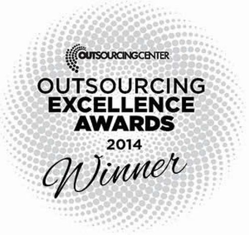 Outsourcing Excellence Awards 2014 (PRNewsFoto/Birlasoft)