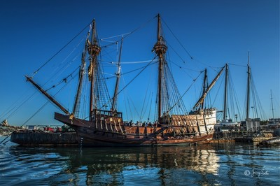 San Salvador Spanish Galleon in Harbor: September 30 - October 10, 2016-- Batten down the hatches and sail across the centuries as the full-scale replica of the first European vessel to explore California's coastline makes her maiden voyage.
