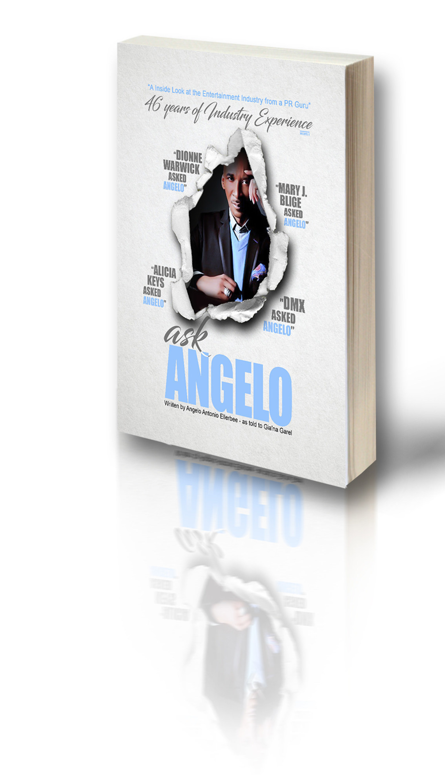 Dionne Warwick Presents PR Guru Angelo Ellerbee's New Book and Radio Show 'Ask Angelo'