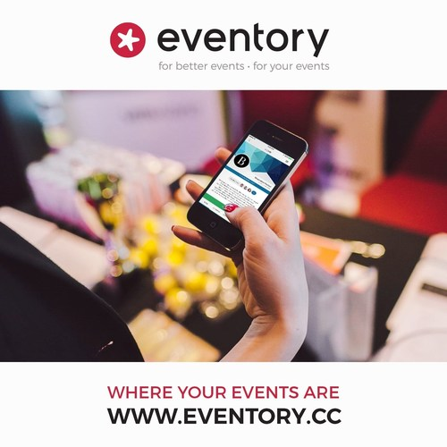 Each event gets its own website as well as a mobile guide for smartphones. It includes everything that would come in a printed conference booklet - the agenda and basic information, schedule, maps, speaker profiles, event descriptions. You get to see who else will be attending, message them in the app, and create your own schedule that's automatically added to your calendar. You can also take lecture notes, rate the talks in real-time and immediately find out about any organizational changes. (PRNewsFoto/Eventory, Inc)