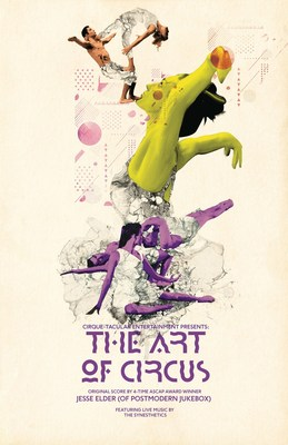 The Art of Circus - World Premiere - Off Broadway - Starts September 6th! www.ArtOfCircusShow.com Elite Acrobats Animate Iconic Works of Visual Art. Original Score by 4 time ASCAP winner, Jesse Elder (Postmodern Jukebox)