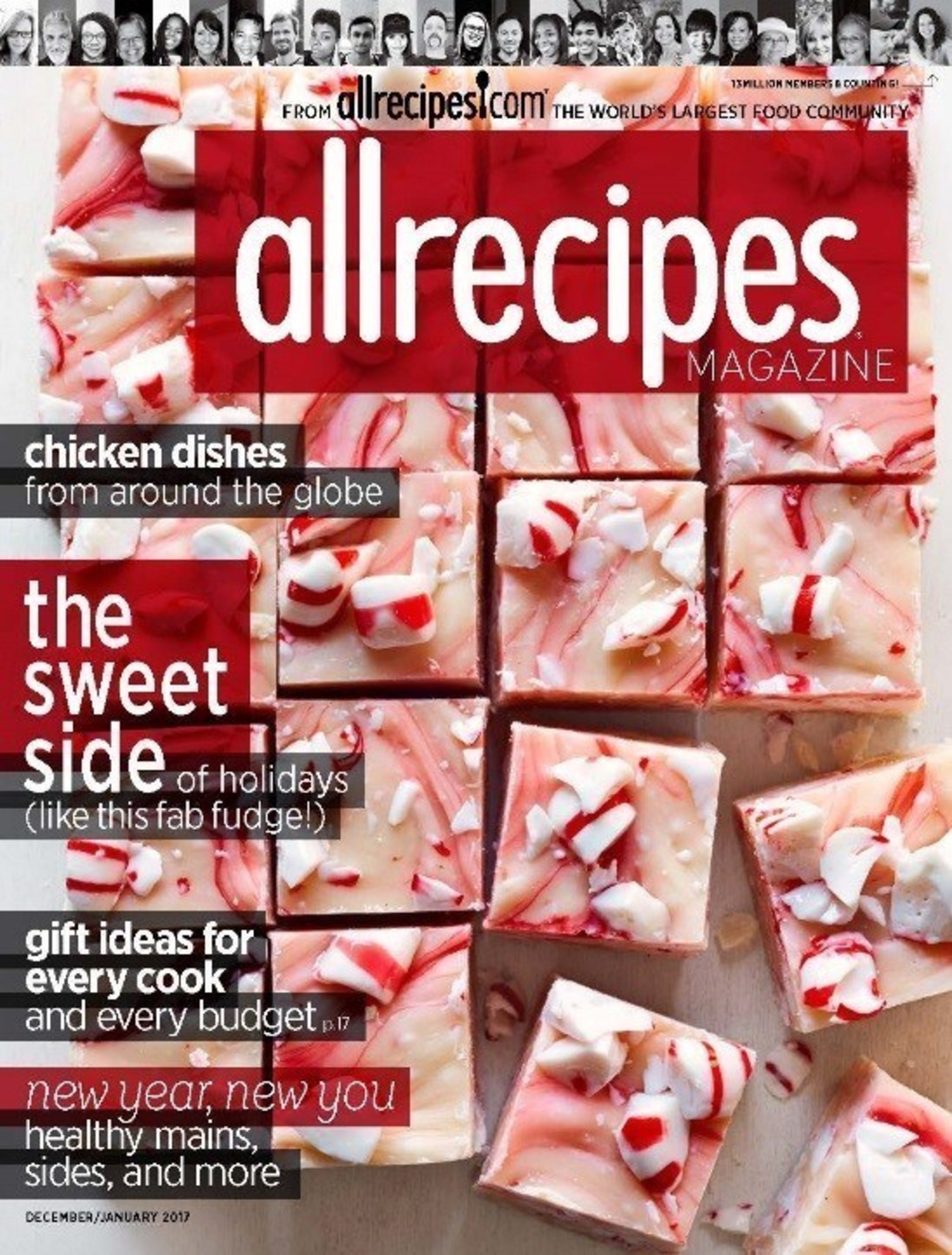 Allrecipes Magazine's December/January 2017 Issue Is The Largest To Date