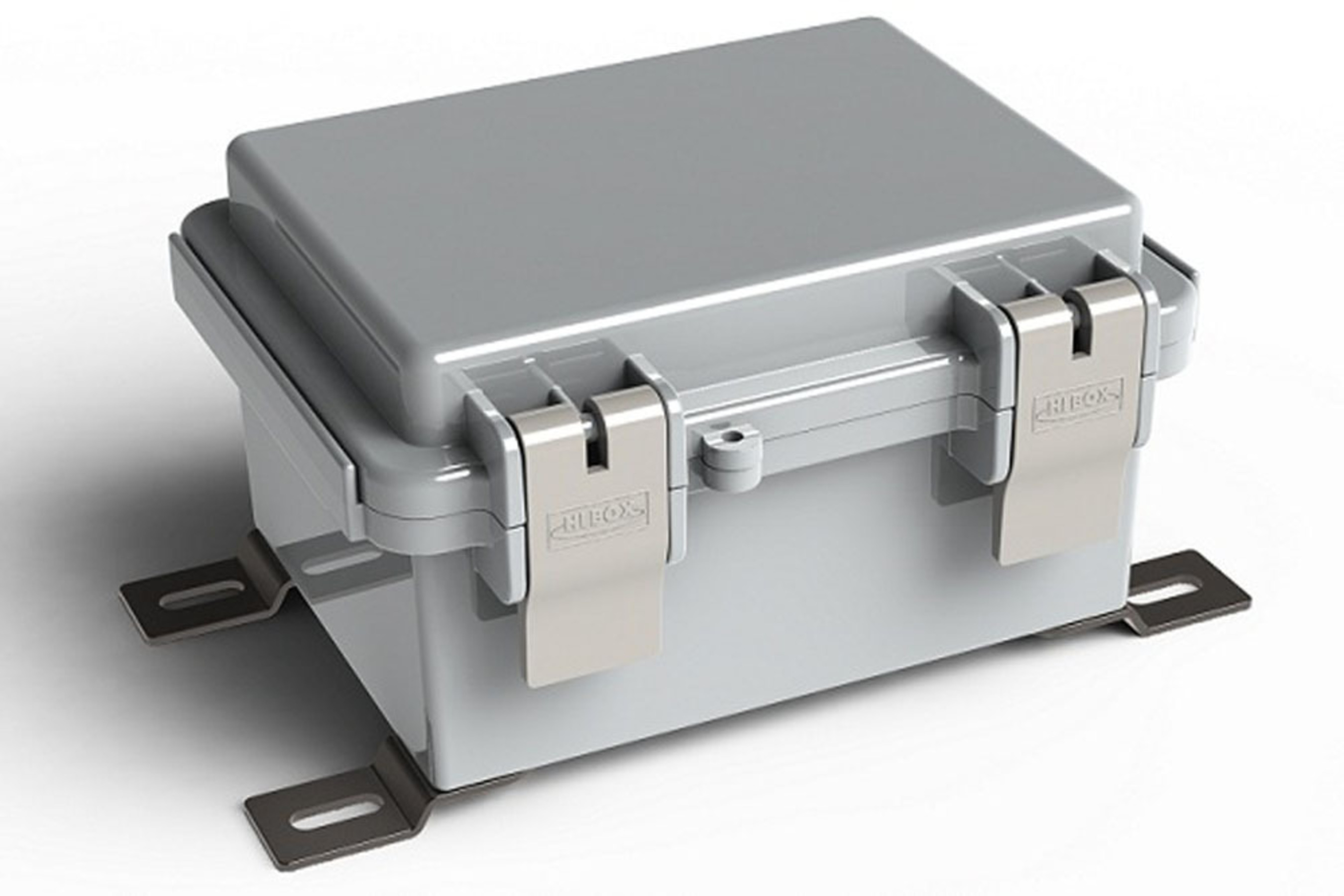 Hinged Electrical Box : Polycase announces new hinged nema electrical