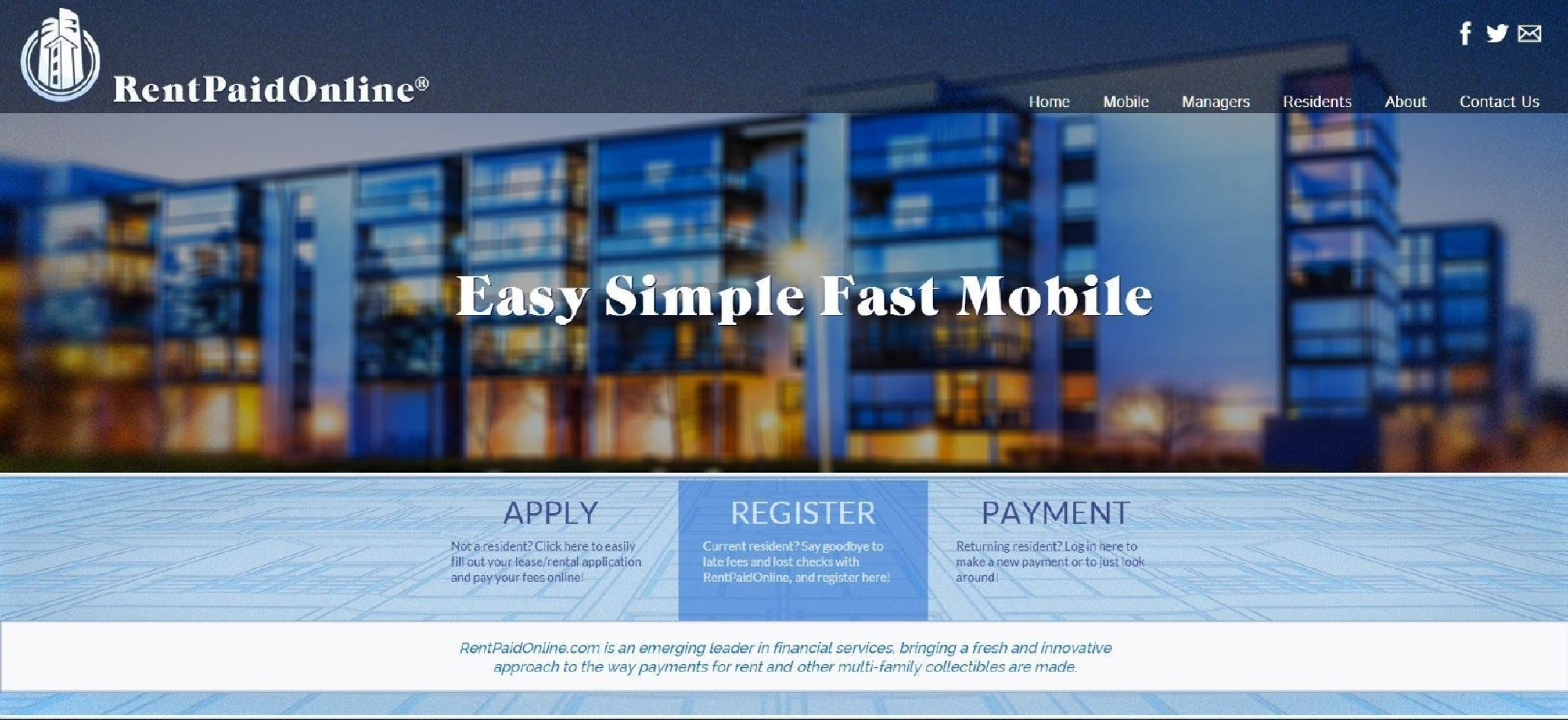 RentPaidOnline Uveils its New Look
