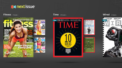 Next Issue Now Available on Windows 8. (PRNewsFoto/Next Issue Media) (PRNewsFoto/NEXT ISSUE MEDIA)