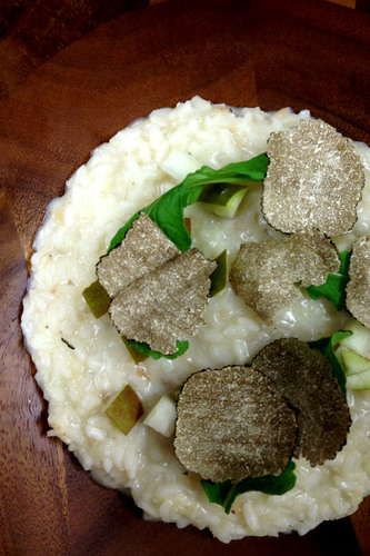 Fontina Risotto with Oregon Truffles at Urban Farmer, a Portland Steakhouse(Photo credit: Sage Restaurant Group).  (PRNewsFoto/Sage Restaurant Group)