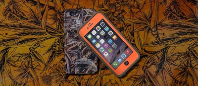 Stand out in the urban jungle with LifeProof FRE waterproof iPhone 6 cases in Realtree camo patterns.