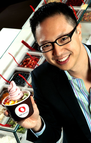 Red Mango, Inc. Founder and Chief Concept Officer Dan Kim.  (PRNewsFoto/Red Mango)