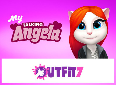 Talking Angela': App Purr-Fection Latest release in Outfit7's 'Talking