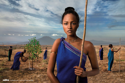 "Our Roots, Photograph by Steve McCurry, ""The Earth Defenders"" 2015 Lavazza Calendar"