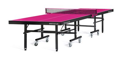 Smash 7.0 - Pink Table Tennis Unit from Brunswick Billiards benefiting Bright Pink. (PRNewsFoto/Brunswick Billiards)