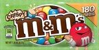 M&M'S Brand has a message to all the diehard fans of M&M'S Crispy Milk Chocolate Candies: They're finally back ... because of you. After a decade of phone calls, petitions, Facebook posts and countless other pleas, Mars Chocolate North America announced today M&M'S Crispy will return to stores nationwide in January 2015 following a 10-year hiatus. (PRNewsFoto/Mars Chocolate North America)