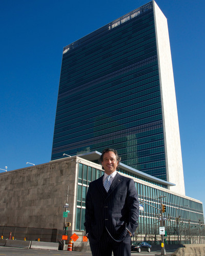ABLI congratulates its president being named to UN Development Corporation by Governor Cuomo.  (PRNewsFoto/Association for a Better Long Island)