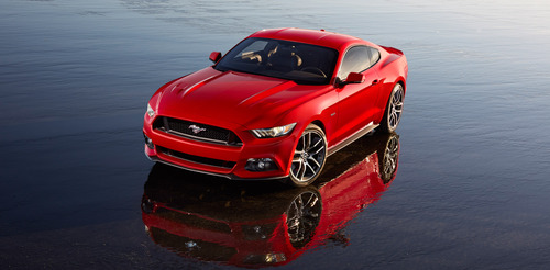 All-new Ford Mustang. (PRNewsFoto/Ford Motor Company) (PRNewsFoto/FORD MOTOR COMPANY)
