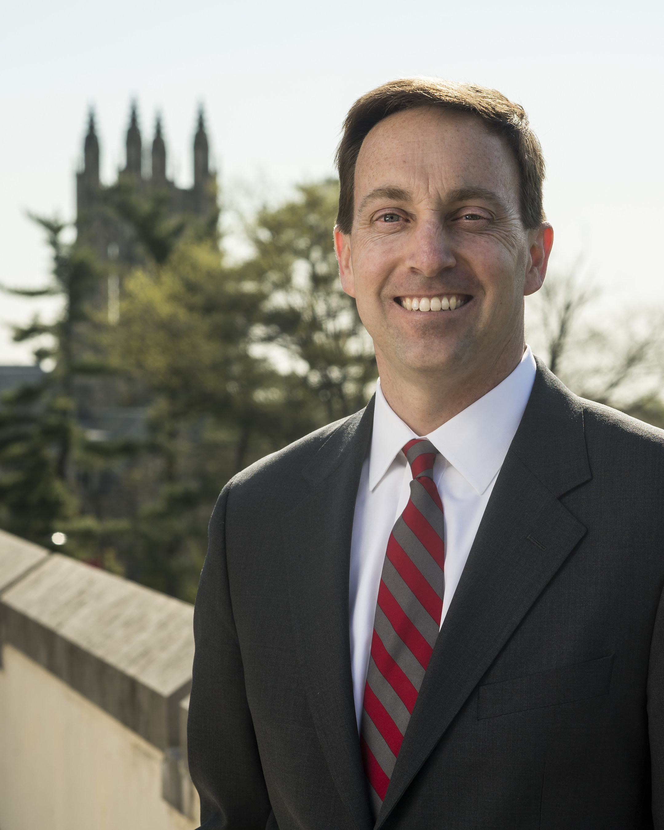 Mark C. Reed, Ed.D., is the president-elect of Saint Joseph's University in Philadelphia. Reed is the first layperson to be elected president in the 164-year history of the Jesuit institution.