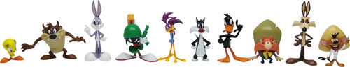 The Looney Tunes master toy licensee The Bridge Direct will debut a new product line with figures, playsets, plush and more.  (PRNewsFoto/Warner Bros. Consumer Products)