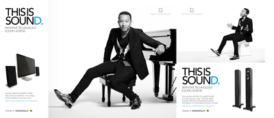 "Definitive Technology launches ""This is Sound"" campaign featuring John Legend.  (PRNewsFoto/Definitive Technology)"