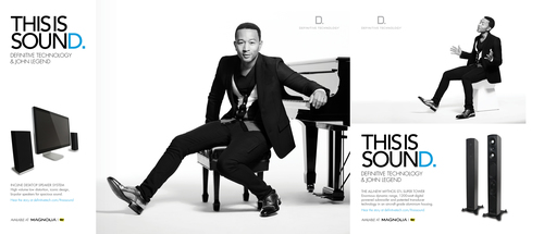 "Definitive Technology launches ""This is Sound"" campaign featuring John Legend.  (PRNewsFoto/Definitive ..."
