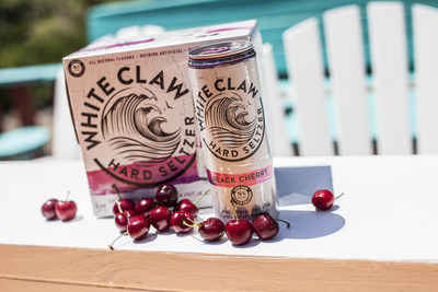 White Claw Hard Seltzer Black Cherry