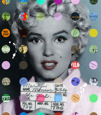 Marilyn: Latest Gossip, Nelson De La Nuez Art, Skye Gallery