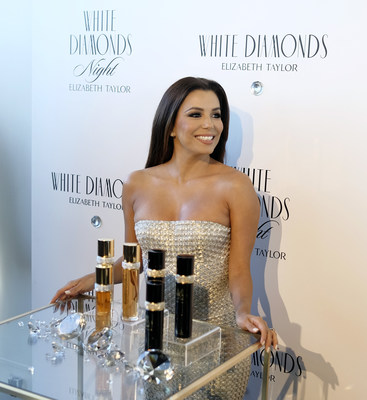 Actress Eva Longoria Co-Hosts Elizabeth Taylor White Diamonds 25th Anniversary Celebration and White Diamonds Night launch; Photo Credit: Dimitrios Kambouris, Getty Images